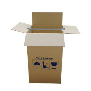χαρτοκιβώτιο ντουλάπα μεταφοράς - μετακόμισης ρούχων